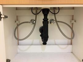 Sink shut off valves