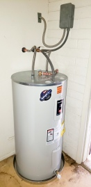 Water heater install 2
